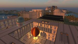 Old-College recreation in Second Life