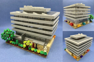 Lego model of the Main Library
