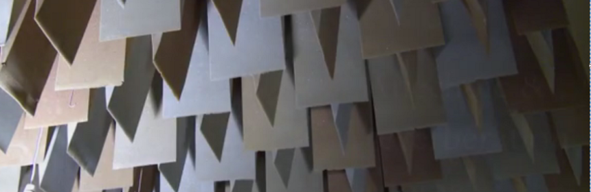 Acoustics soundproof wall