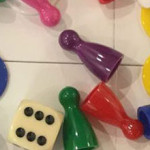 dice, counters, and spinners
