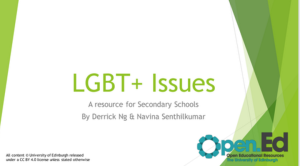 LGBT resource screenshot