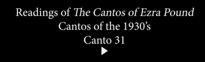 Readings of the Cantos of Ezra Pound