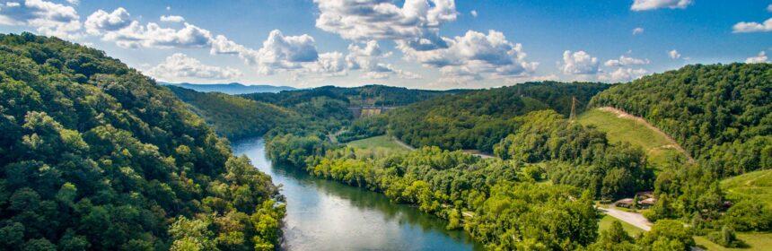Beautiful river view